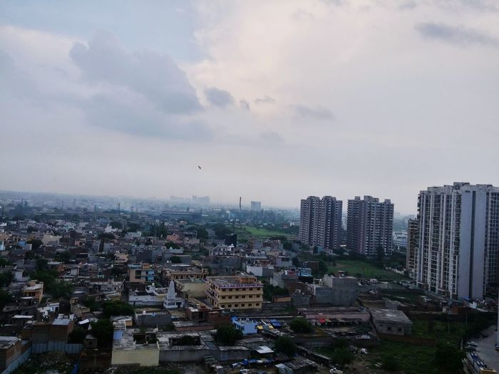 Ghaziabad India City Overview Sky