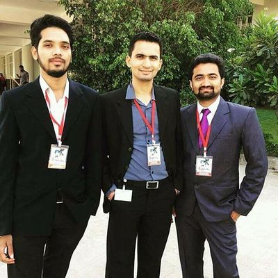 3 Gentlemen... (L-R)Consultant, Photographer, Cricketer Pbhargav Photo Photography Photoshoot Conference Buddy Friends Attractive Suit Suitedman Suited Dashing Dashing Dudes