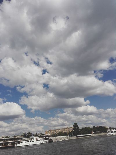 Cloud - Sky Sky Day Outdoors Built Structure Water Architecture No People Sea Nature Building Exterior Beach Scenics Nautical Vessel City Moscowriver Moscow Russia 🇷🇺 Neighborhood Map