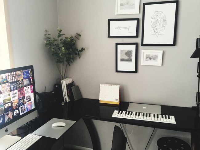 Room Desk Technology Computer Computer Keyboard Desktop Pc Imac Ofice Indoors  Computer Monitor No People Day