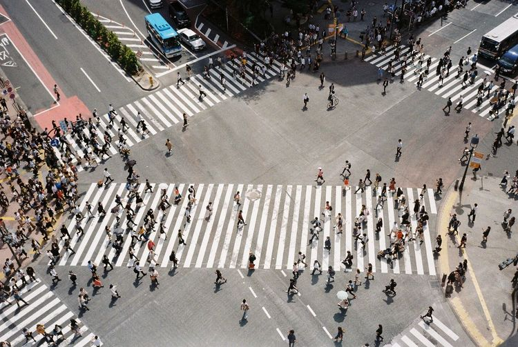 found vantage changes the way we see Japan Shibuya Tansania The Street Photographer - 2018 EyeEm Awards Architecture Birdseyeview City High Angle View Road Street Transportation