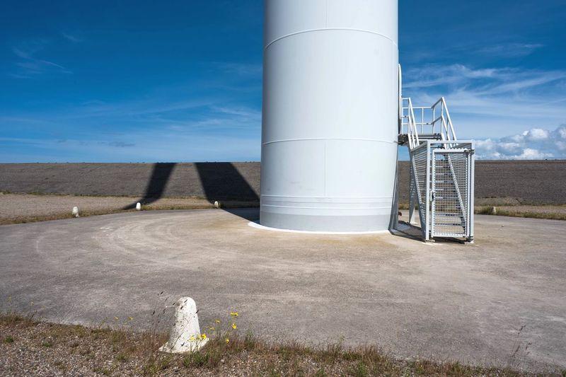 EyeEm Selects Windturbine Sky Blue Sky Round Energy Nature Wind Light Shadow Shore Dutch Zeeland