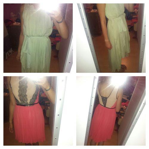 kaviar gauche Vs. Oasis Shopping Kaviar Gauche Dress Helpp!!