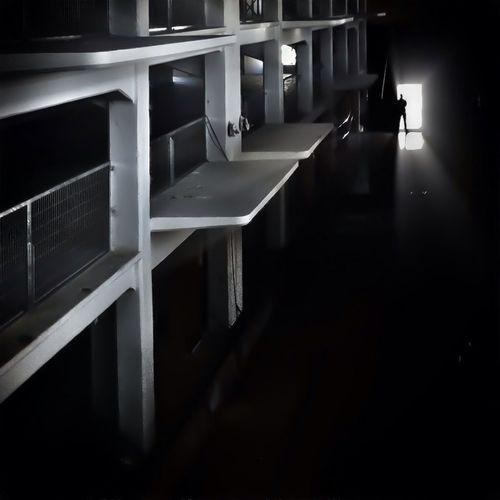 View of corridor in building
