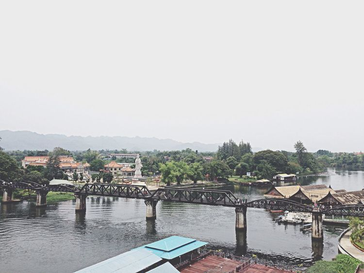 Thailand_allshots Bridge Train Traveling