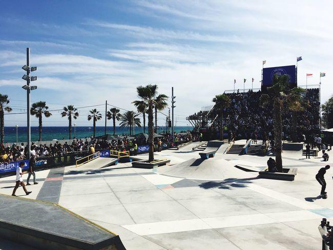 Ágora Skate Park Badalona Nikesb Sls Streetleague Skateboarding Agora