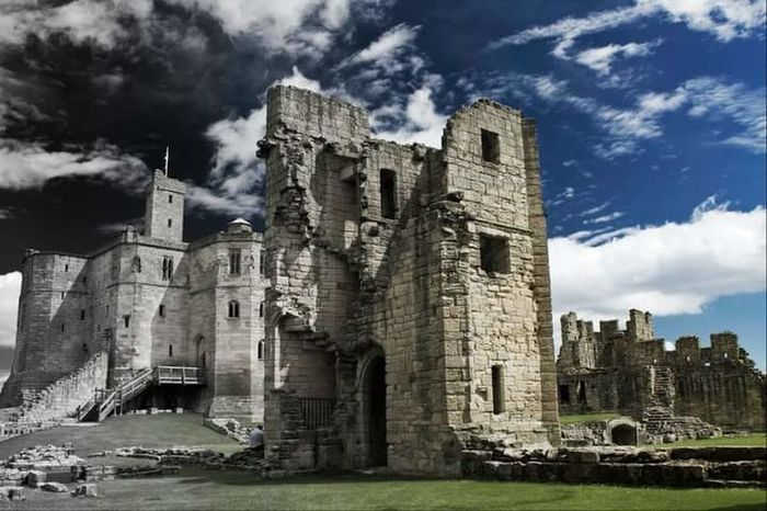 Old Ruin History No People Building Exterior Architecture Sky Outdoors Castle WarkworthCastle England 🌹 Lifeasiseeit John Nelson Landscape Beauty In Nature Scenics