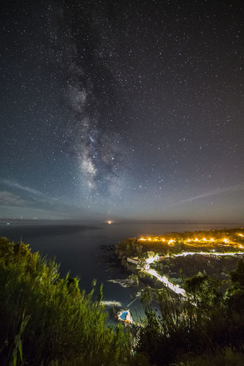 Nightsky with milkyway on Caloura, São Miguel, Azores Azores Azores, S. Miguel Blue Sky Canonphotography Landscape Milky Way Milkyway Nightphotography Nightsky Noclouds Seascape Starscape