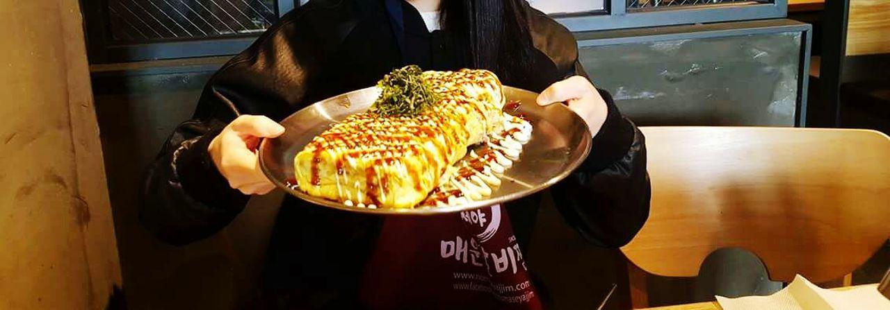 노마세야 계란말이 Food Rolled Omelet ケランマリ 卵焼き Delicious