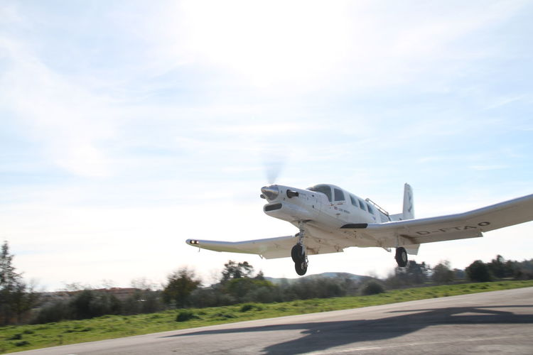 Air Vehicle Airplane Airport Runway Cloud Cloud - Sky Day Flying Mode Of Transport Outdoors PAC 750 XL Sky Take Off Taking Off Transportation