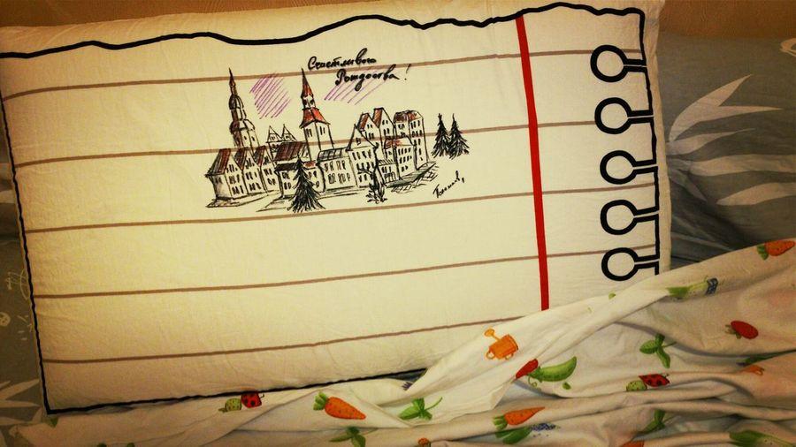 Pillow Pillows Write On Pillow