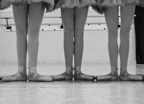 Ballet Ballet Shoes Blackandwhite Dance Dance Floor Legs Legs_only Part Of Body Tutu Young Women