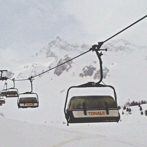 Around The World By Lufthansa Ski Lift Passo Tonale