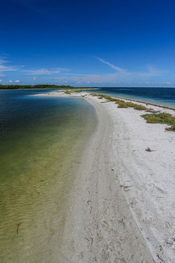 Sandbank Beach Beauty In Nature Day Horizon Over Water Landscape Nature No People Outdoors Sand Scenics Sea Sky The Way Forward Tranquil Scene Tranquility Travel Destinations Water An Eye For Travel