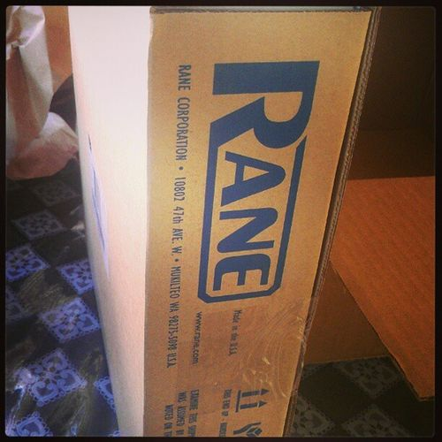 Guess wat I got in the mail? Rane Sl2 Djlife Timetowork practice makes perfect