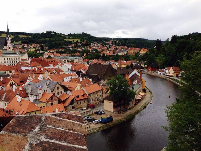 Krumlov Taking Photos EyeEm Best Shots House Houses Sky Lipno Castle River Czech Republic Green