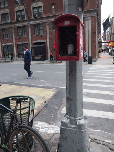 Broken Built Structure Call Box City City Life City Street Day Emergency Fire Box In Need Of Repair Misuse Outdoors Red Street Urbanphotography What Happens When...