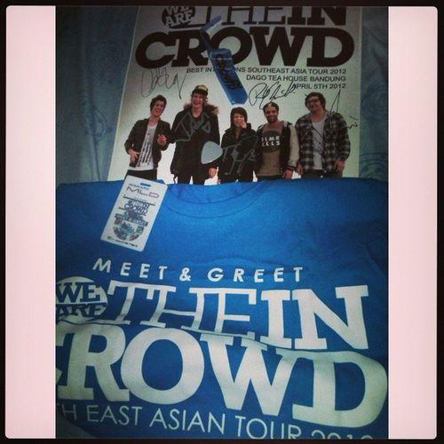 We are The in Crowd MeetAndGreet MNG Tayjardine Throwback