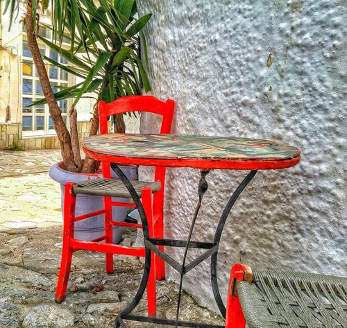 Summer Vibes Hanging Out Walking Around Walking Around The City  Greekstyle Greek Style Greek Street Greek Street View Charming Charming Corners Charming Place Red Chair EyeEm Best Shots Eyeemphotography EyeEm Gallery Feel The Journey Feeling Inspired