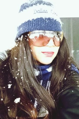 Texas snow ⛄️❄️❄️? Happy Dallas Cowboys Latina