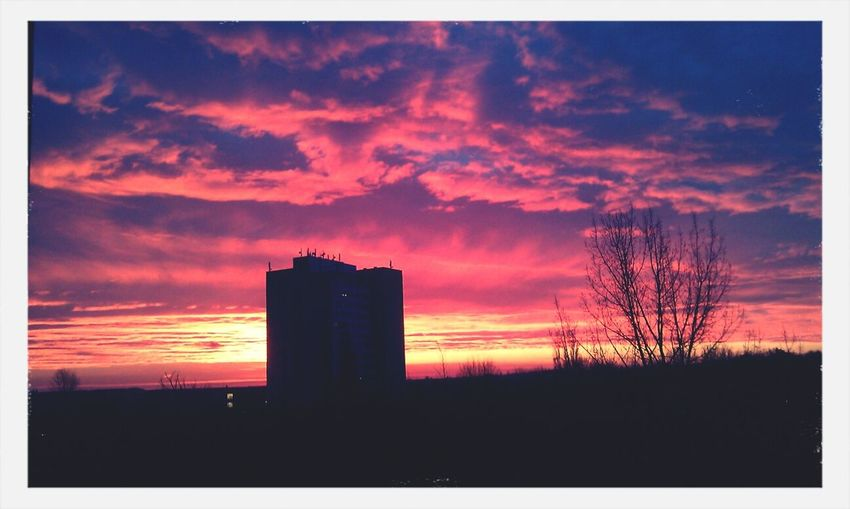 Sunrise At School Look How Beautiful  Photography