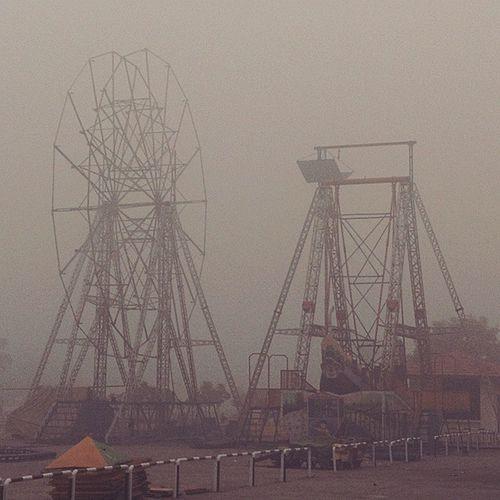 Jointwheel Delhi Earlymorning  Fog Cold Runningnose