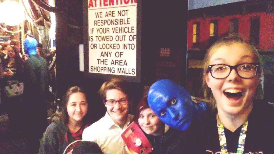 blue man 🙈