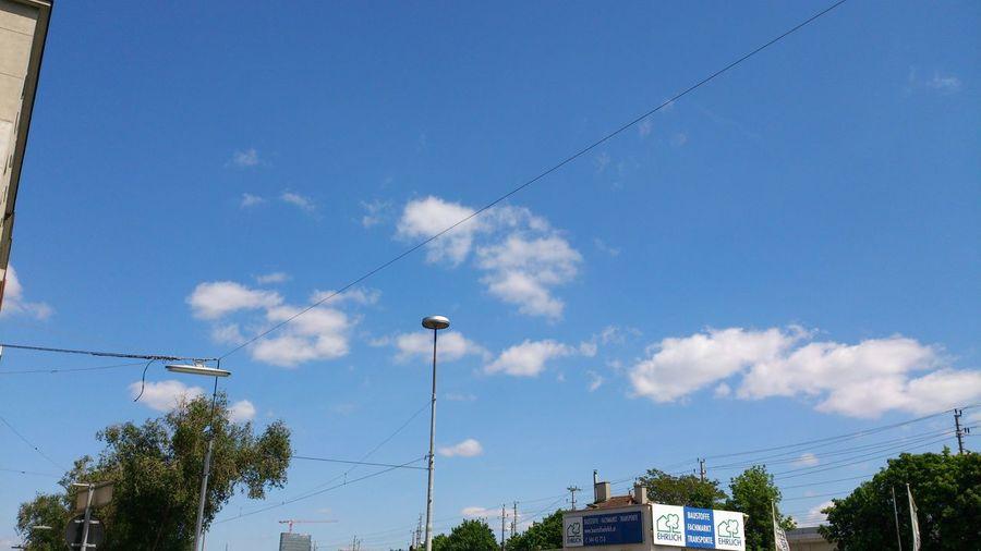 Wolken Mai 2014 Himmel über Wien