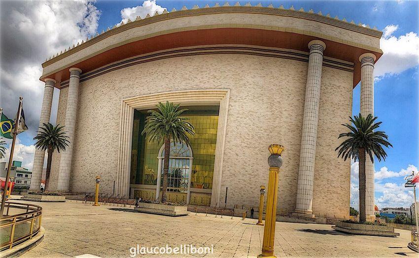 Templo de Salomão in São Paulo Sao Paulo - Brazil Panoramic Photography Architecture Temple - Building Temple Saopaulocity Templo De Salomão SP - Brasil