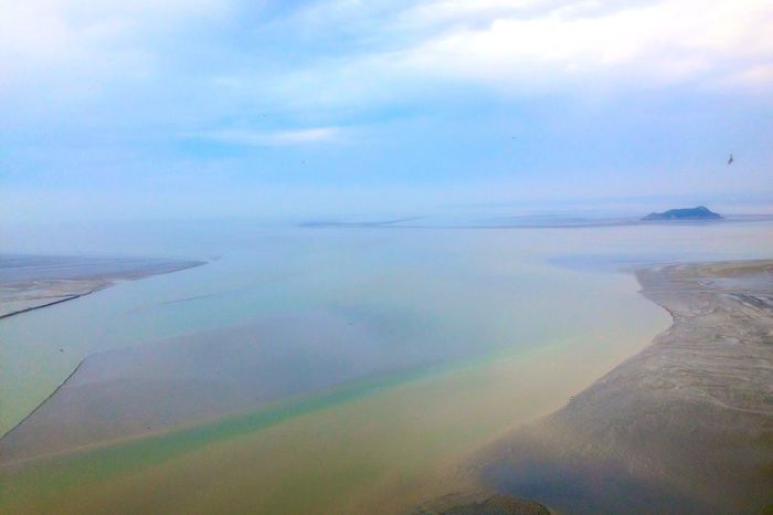 View from Mont Saint Michel ! Water French Brittany Landscapes With WhiteWall Colorful Nature Photography Coastline Ocean Bay Bretagnetourisme Photography Enjoying Life France Quiet Moments Wonderful Nature Cloud Sky Bretagne Blue Nofilter Island