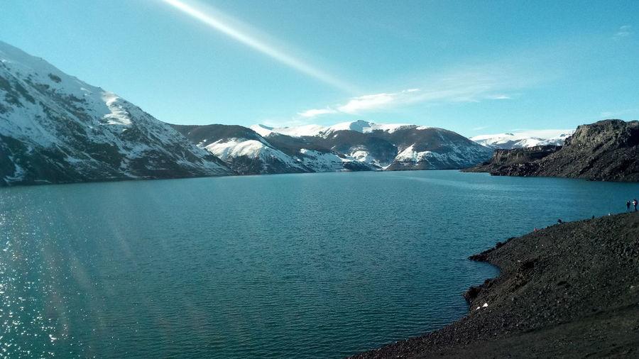Laguna Laja Lagunalaja Biobio Antuco Biobio Chile♥ Chilelindo  Chilepaisajes Lake Water No People Landscape Nature Mountain Antuco Been There.