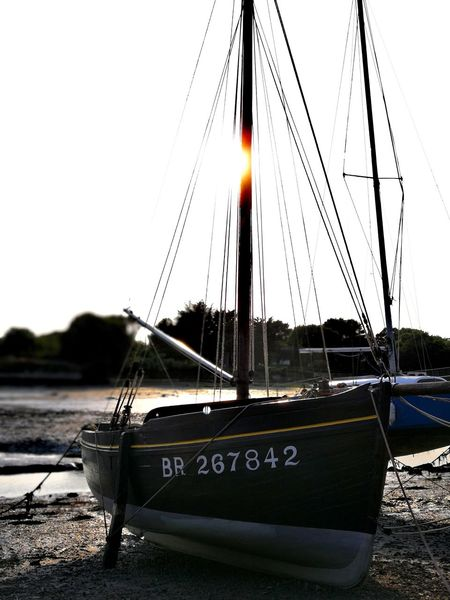 HUAWEI Photo Award: After Dark Huawei P10 Plus Leicacamera Bretagne Presqu'île De Rhuys Breizh Water Nautical Vessel Sea Harbor Beach Moored Sailboat Mast Sky Close-up Boat