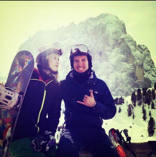 Saslong Dolomites Skivs. Snowboard