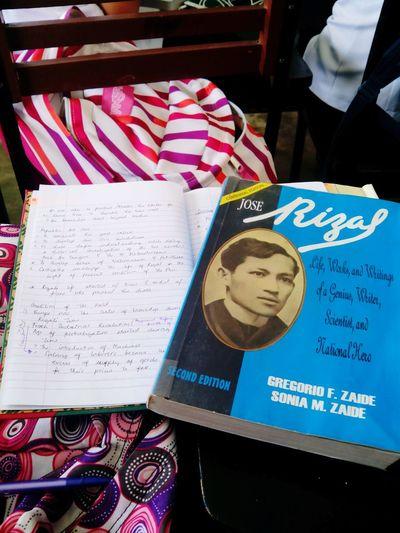 Getting to know this National Hero. 😅 Nationalhero Jose Rizal Eyeem Philippines College