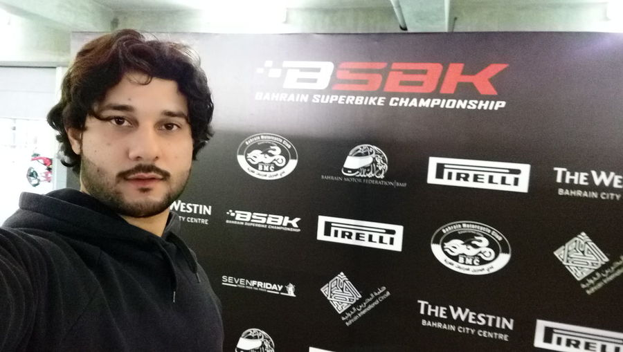 Myself Excited Itshappening .. Getting ready for Bahrain superbike cbampionship BSBK