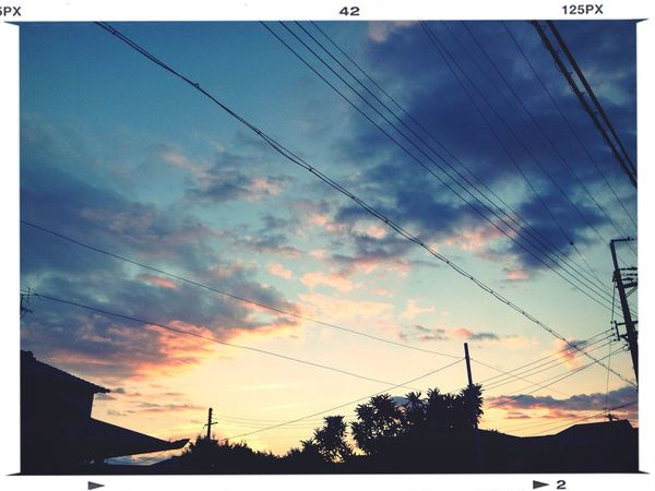 Clouds And Sky Sunset