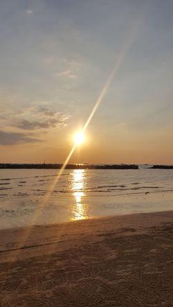 Water Low Tide Sea Sunset Beach Wave Sand Summer Beauty Sunlight