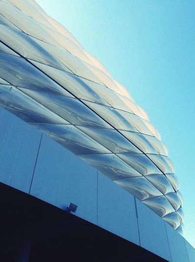 Allianz Arena München Munich Stadium Stadion Urban Urban Structure Architecture Fassade Facades Rauten The Architect - 2016 EyeEm Awards Sky Skyporn no Football Culture Found On The Roll Football Fever