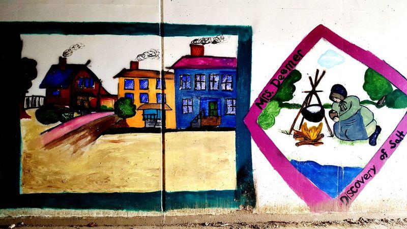 WHT Thank You Girl Scouts Girl Scouts Painting Mural ArtWork TunnelPorn Tunnel Wht Pennsylvania Bikelife Trail Bike Ride Biking