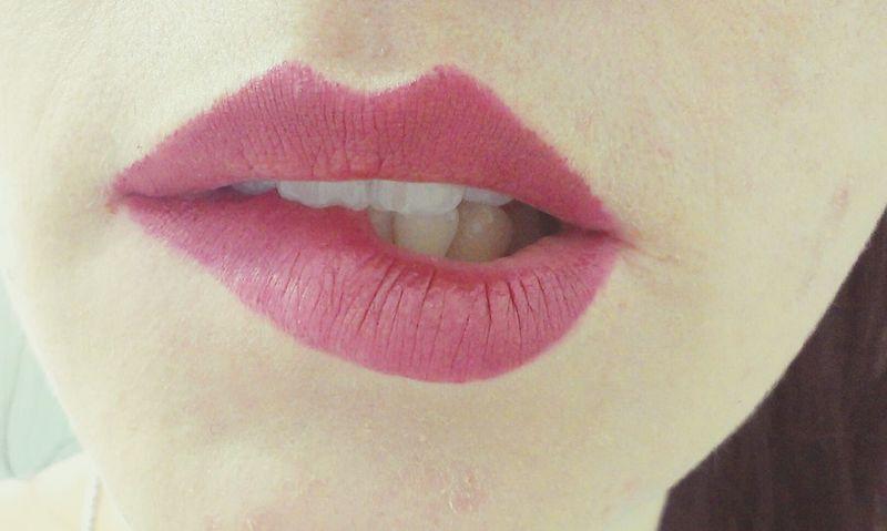 Pink Lips. Lips Balm
