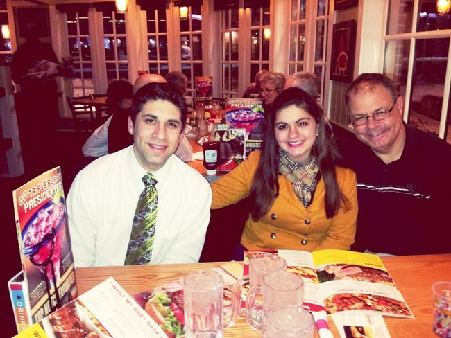 with the the older bro and daddy :)