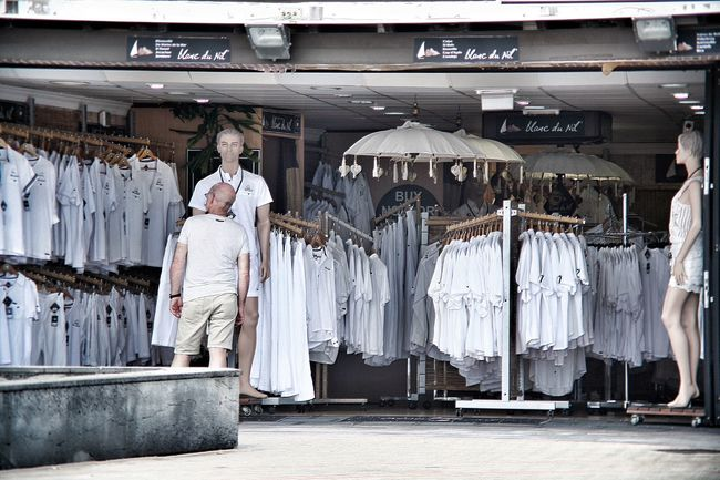 True Or False Shopping In White Color Palette White Color Streetphotography