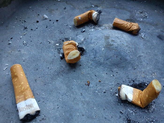 No smoking...
