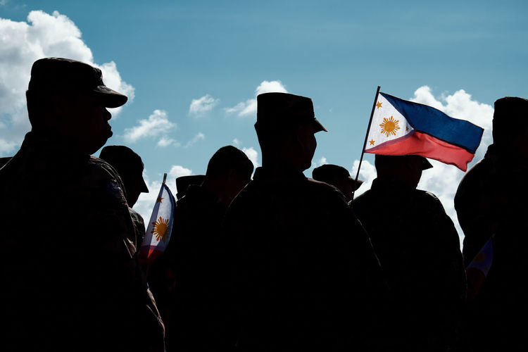 Celebrating Philippine Independence Day with the Armed Forces of the Philippines over Benham Rise (now named Philippine Rise) The Photojournalist - 2017 EyeEm Awards