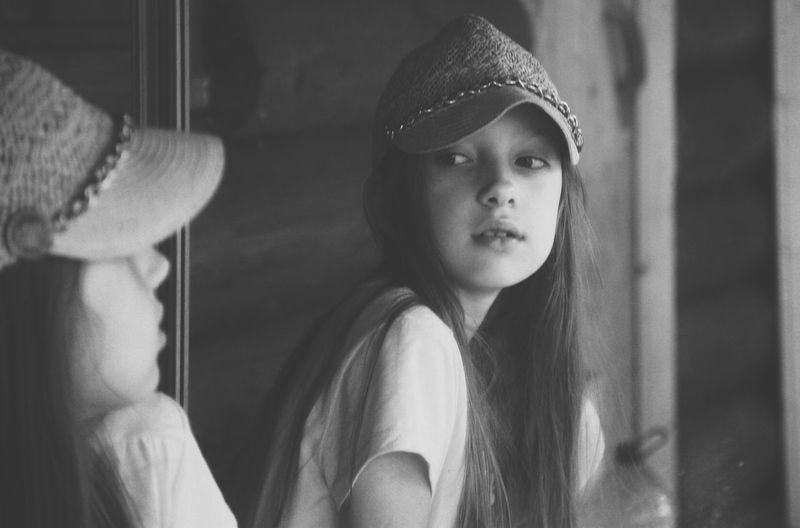 Taisiya Portrait Young Adult One Person Real People Lifestyles Hat
