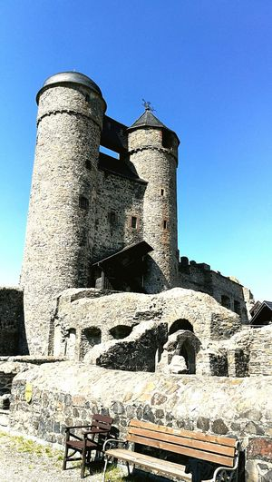 History Built Structure Old Ruin No People Architecture Outdoors Day Sky Castle Walls Castle Tower Castle Castle Greifenstein Greifenstein Castle (German: Burg Greifenstein) Hessen Germany