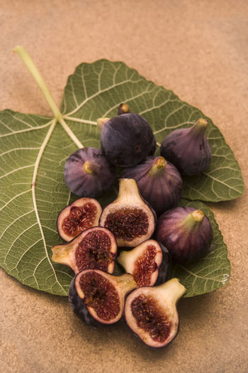 Ripe Figs on a