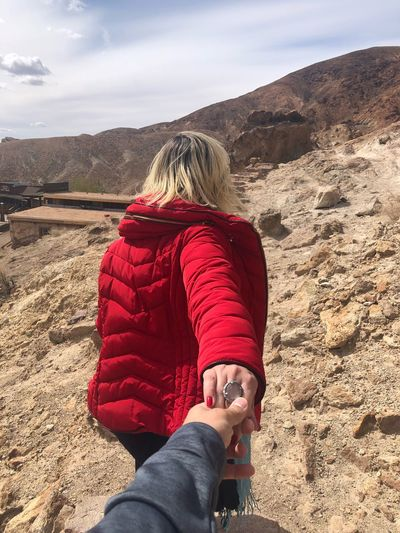 💑😘😍 Desert Love My Wife One Person Real People Day Sand Leisure Activity Human Leg Human Body Part Lifestyles Nature Sky Beach Outdoors Landscape Beauty In Nature Human Hand Warm Clothing Young Adult Women Low Section Mountain