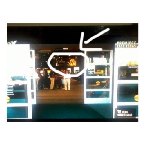 "Saw ""Celine"" billboard on Last Vegas movie, when the movie scene on airport in Vegas.. Celinedion Lastvegas Celineshow"