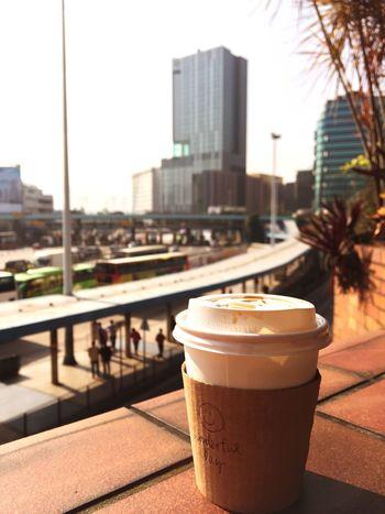 Wonderful Day Morning Sun Traffic Coffee
